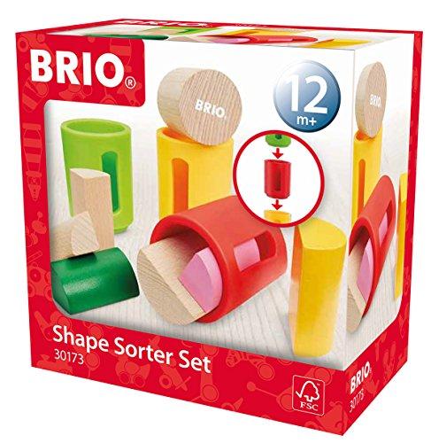 BRIO 30173 - Sortierbare Holzbausteine, bunt
