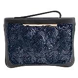 Eferri Marta, Bolso de mano Mujeres, Color - Azul, 28x20x3 cm