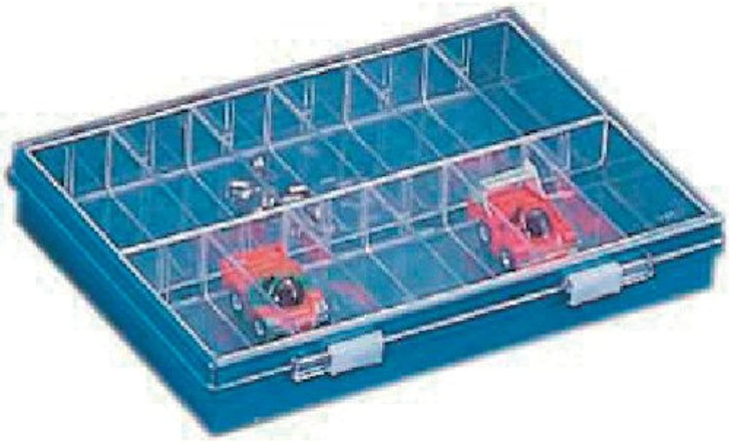 HOZAN Accessory parts case with 24 booths B10AA (Japan Import)