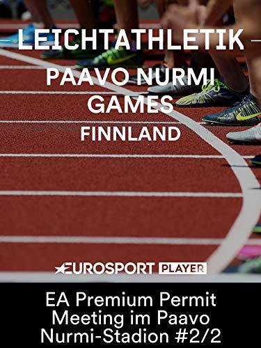 Leichtathletik: Paavo Nurmi Games 2019 in Turku (FIN) - EA Premium Permit Meeting im Paavo Nurmi-Stadion