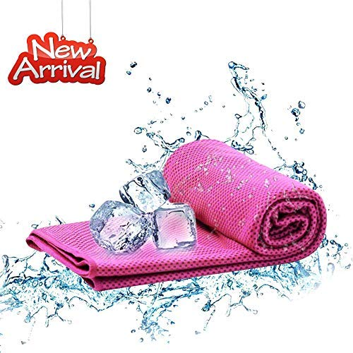 Cooling Towels - Instant Chilling Cool Towels for Neck Ice Towels Wrap, Instant Relief for Cold & Hot Therapy