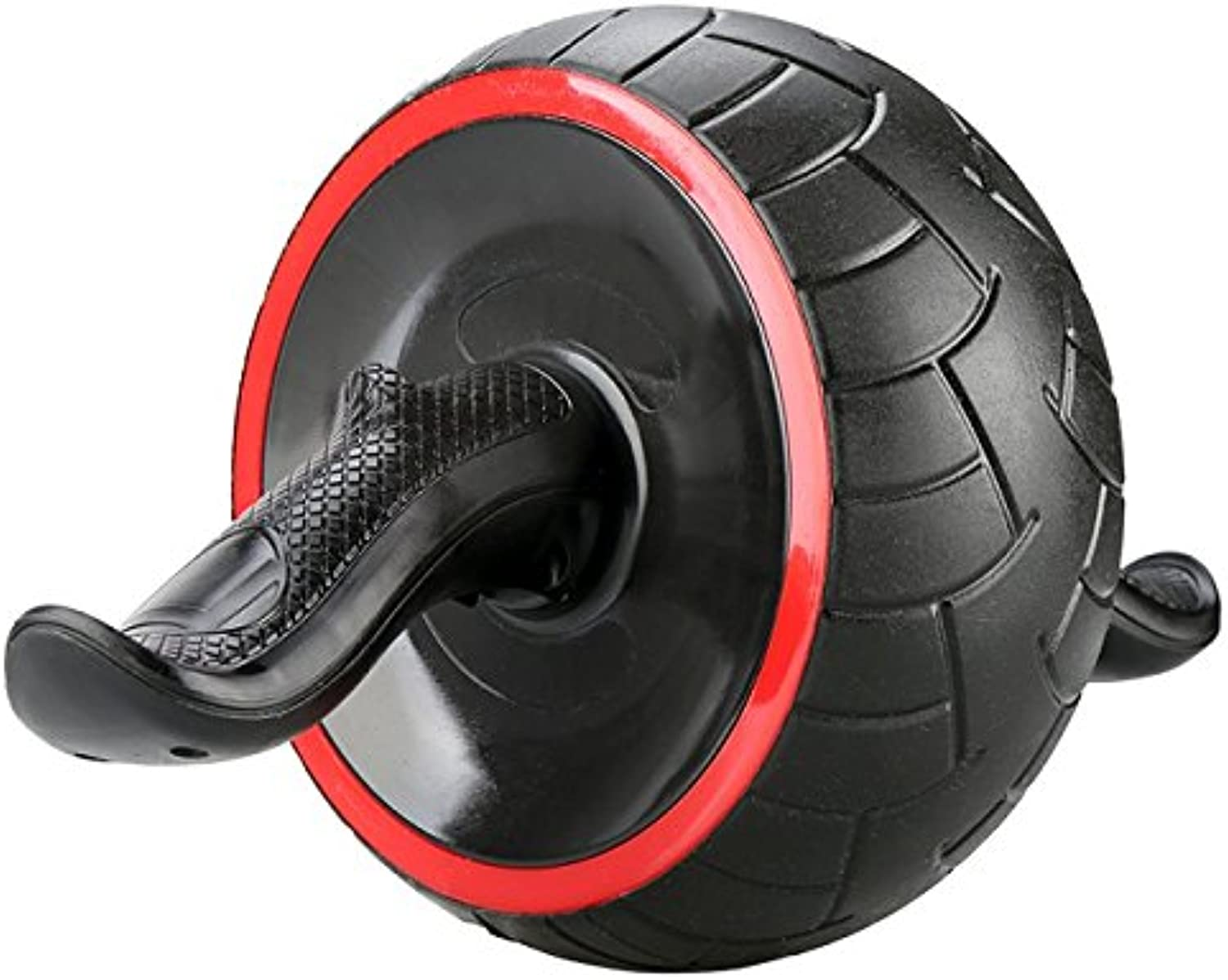 Dual Ab Roller Exercise Wheel & Thick Knee Pad The Perfect Fitness Exerciser  Portable Abdominal Workout Equipment with Soft Foam Handles  Great Core Exerciser for Men and Women  Home Gym Set 096
