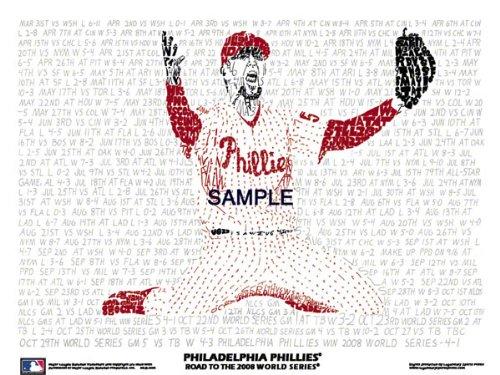 Philadelphia Phillies Poster: '08 Championship Poster