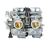 Carburadores Para PD26JS 26MM 250CC CBT 125/250 Carburador doble cilindro para motocicleta ATV para Johnny Pag Spyder 300 para Barhog para R&aptor FX-3 Carb Carburadores para moto