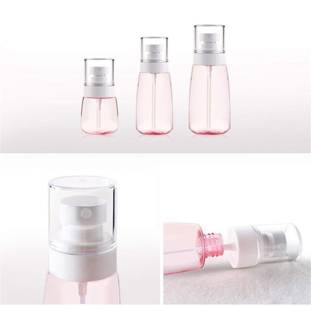 Nologo 1 botella de plástico de 30 ml / 60 ml / 100 ml UPG fina de la bruma spray botella de plástico del pulverizador botella de perfume reutilizable viaje Daguai: Amazon.es: Hogar