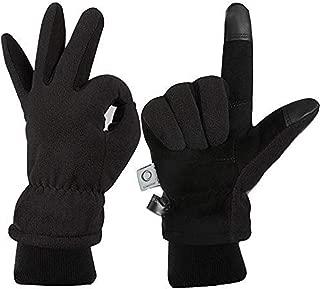 Winter Glove, Warm Work Gloves for Men & Women, Thermal Fleece Gloves