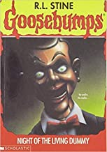[By R.L. Stine ] Night of the Living Dummy (Goosebumps - 7) (Paperback)【2018】by R.L. Stine (Author) (Paperback)