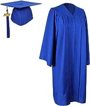 GraduationForYou Unisex Adult Matte Graduation Gown Cap With Tassel 2019