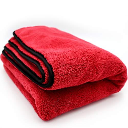 PREMIUM Drying Cloth [90x60cm - 1200GSM] - Extra assorbente senza residui - Panno in microfibra con estrema capacità di assorbimento - particolarmente delicato sulla vernice - per auto e moto