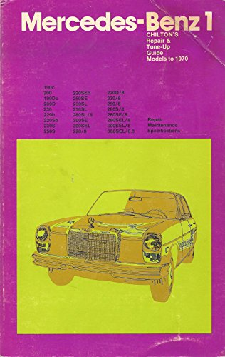 Chilton's Repair and Tune-Up Guide: Mercedes Benz 1959-70