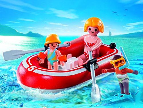 Playmobil - Urlauber mit Schlauchboot