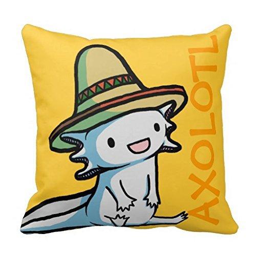 eKxIcSSv Mexican Axolotl Pillow Case