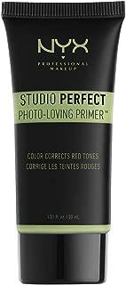 NYX PROFESSIONAL MAKEUP Studio Perfect Primer, Green, 1.0 oz/30ml