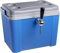 Chopeira a Gelo Lavita caixa 34l - azul com serpentina em alumínio torneira belga 1 via