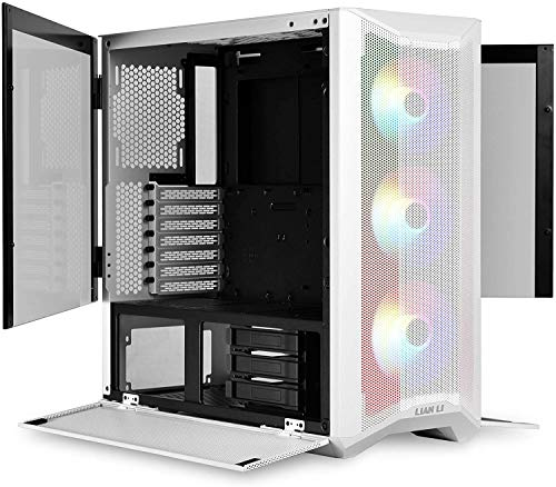 LAN2MRW LANCOOL II Mesh RGB Blanco LAN2MRW Vidrio Templado ATX Case - Color Blanco - LANCOOL II Mesh RGB Blanco… 1
