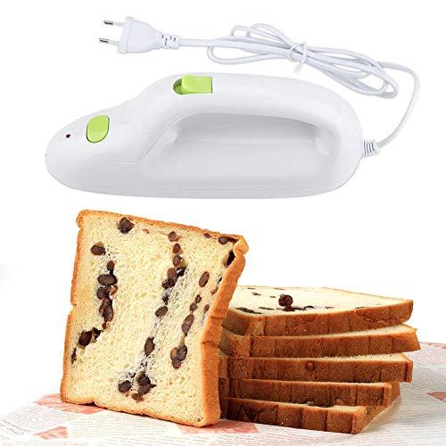 coltello da pane elettrico, coltello elettrico per pane coltello elettrico portatile in acciaio inossidabile per carne/pane/formaggio/verdura e frutta