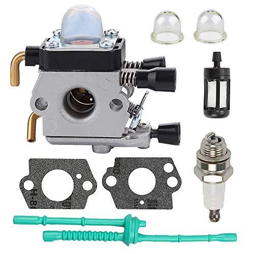 Harbot FS80R FS45 Carburetor for Stihl FS55 FC55 FC75 FC85 FS38 FS45C FS45L FS46 FS55C FS55R FS55RC FS55T FS74 FS75 FS76 FS80 FS85 FS85R HL45 HS45 HS75 HS80 HS85 Trimmer Weed Eater ZAMA Carburetor