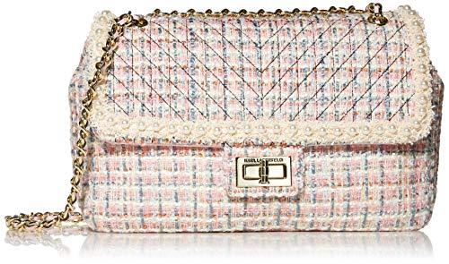 Karl Lagerfeld Paris Agyness Umhängetasche groß, Pink (Candy mit Blütenblatt), Einheitsgröße
