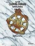carmina burana vocal score: cantiones profanae - klavierauszug