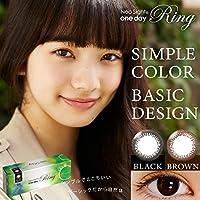 カラコン ネオサイトワンデーリング ブラック【PWR】-3.50 (1日交換タイプ 1箱30枚入り)