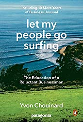 Let my People Go Surfing // A list of 12 of the best adventure books and inspiring books about the outdoors for anyone who wants a little more adventure in their everyday life.