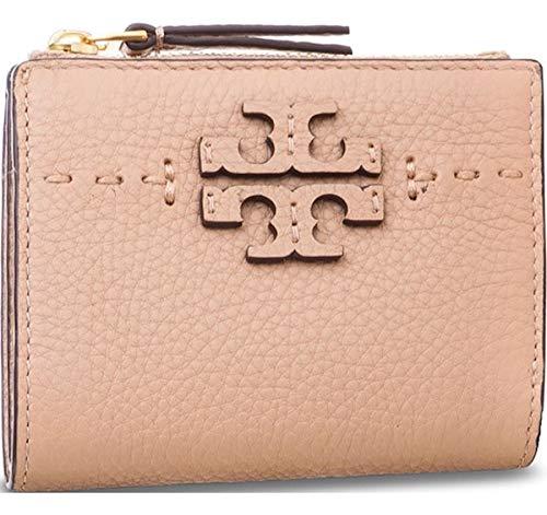 TORY BURCH Small Women's Wallet, Portafogli, Rosa, 10.5x9