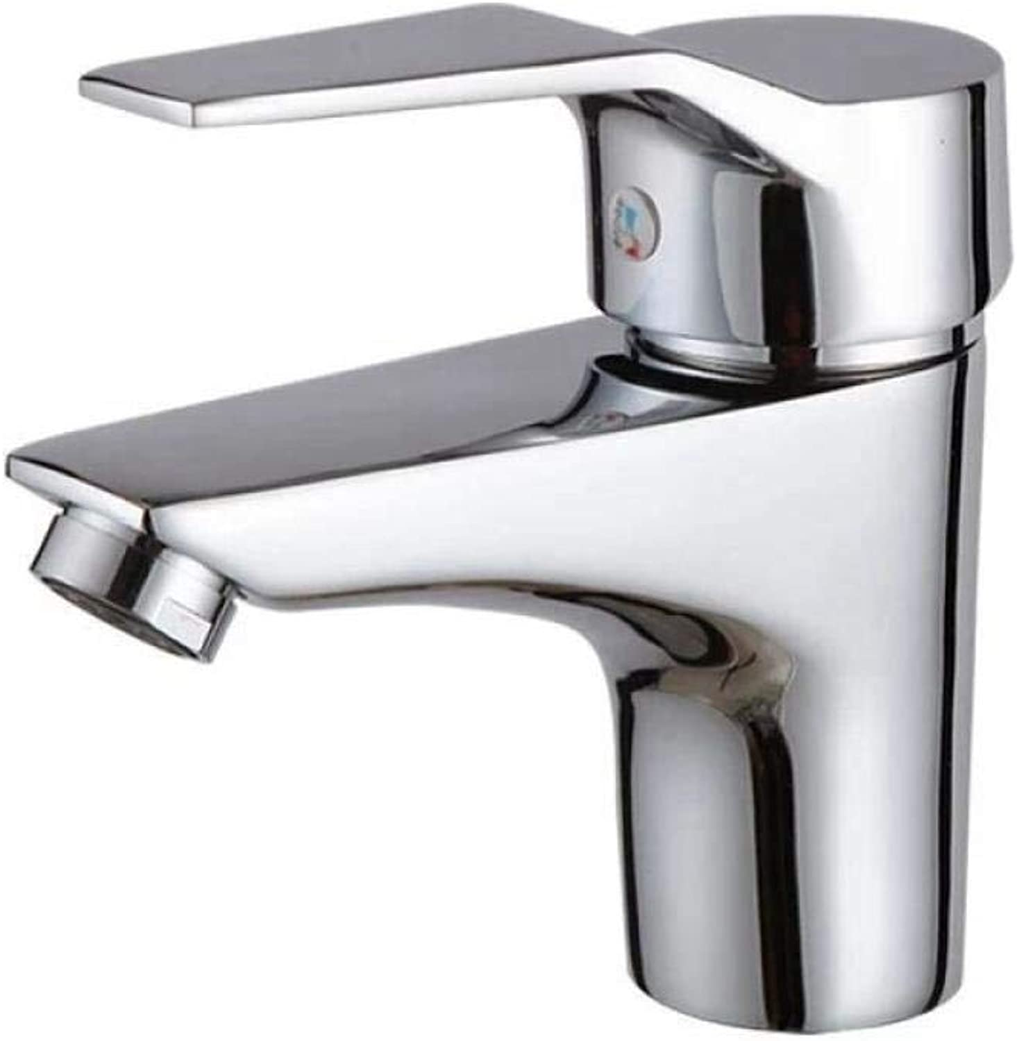 Copper Single Hole Wash Basin Faucet C7697