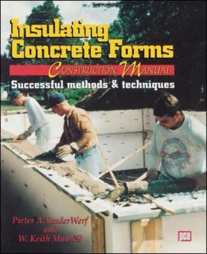 Insulating Concrete Forms Construction Manual