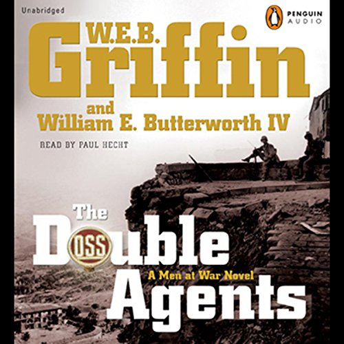 The Double Agents  audiobook cover art