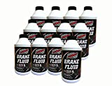 Champion Premium Silicone Dot 5 Brake Fluid, High-Performance, All-Weather, Moisture, Corrosion, and Oxidation Resistant Formula Designed for use in Non-ABS Braking Systems, 12 oz, 12 pack