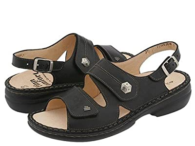 Finn Comfort Milos 82560 (Black Leather) Women