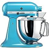 KitchenAid 5KSM175PSECL Artisan Robot de cuisine, 300 W, 4.8...