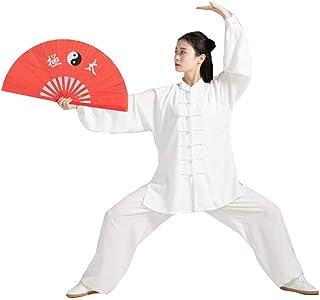 fwadu Tai Chi mundurek kobiety mężczyźni przytulne ubrania tai chi skrzydło chun odzież shaolin oddychające KungFu ubrania...