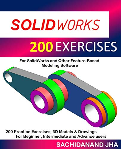 SOLIDWORKS 200 EXERCISES (English Edition)
