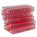 Sweet Elite Tools - Snap Together Mini Letter Embosser Stamps for Cakes, Cupcakes, Cookies, Rolled Fondant, Gumpaste, or Clay -by Autumn Carpenter
