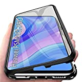 Custodia Magnetico Cover per Huawei P Smart PRO, Adsorbimento Magnetico Custodia 360 Gradi Full...