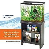 Aqueon Essence Aquarium Stand, 20-Inch , Black