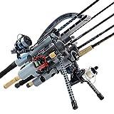 Rod-Runner Fishing Rod Rack | PRO 5 Portable Rod Holder |...