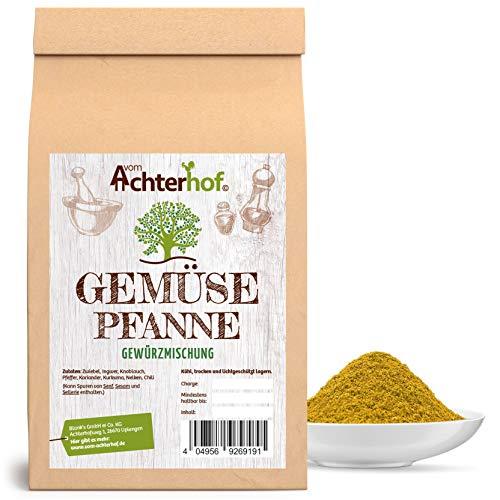 100g Gemüsepfanne Gewürzmischung Gemüse Grillpfanne Vegan vegetarisch kochen Gewürze vom-Achterhof