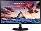 Samsung 24 inch SF35 Monitor (LS24F350FHNXZA) - 1080p, Dual Monitor, Laptop Monitor, Monitor Stand/Riser/Mount Compliant, AMD Freesync, Gaming, HDMI, Black
