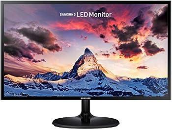 Samsung Electronics 24 inch SF35 Monitor  LS24F350FHNXZA  - 1080p Dual Monitor Laptop Monitor Monitor Stand/Riser/Mount Compliant AMD Freesync Gaming HDMI Black