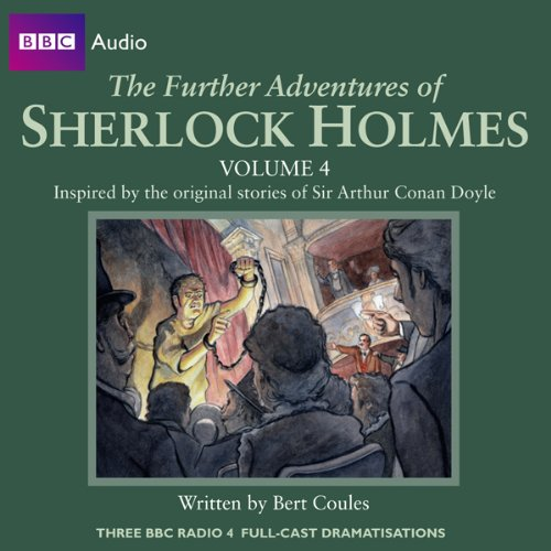 The Further Adventures of Sherlock Holmes: Volume 4 cover art