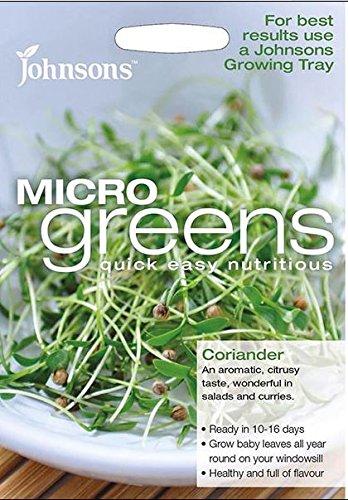 Johnsons???Salade???Microgreen Coriandre???1000?graines