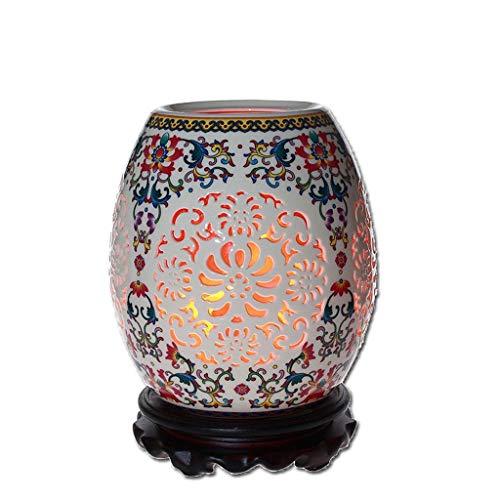 L.HPT Kristall-Salz-Lampen-kreativer jährlicher Sitzungs-Geschenk-Raum-Tabellen-Lampen-Felsen-Salz (Farbe : 2)