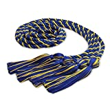 Endea Graduation Double Honor Cord Two-Color (Royal Blue/Gold)