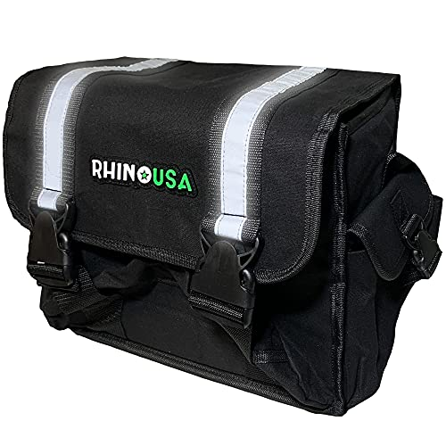 Rhino USA Recovery Gear Storage Bag - Ultimate Recovery Kit Bag for Organization in Your Vehicle - Use With Your Tow Strap, Shackles, Snatch Block or Anything You Desire - Guaranteed For Life!