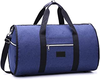 feelingood 2 in 1 Hanging Suit Travel Bag Luggage Duffle Garment Bags with Shoulder Strap
