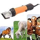 Jnzr Clippers equinos, Profesional eléctrica preparación del Animal doméstico Tijeras Pet Trimmer Set con 6 Velocidad Ajustable para Caballos, Llamas, Vacas, Cabras