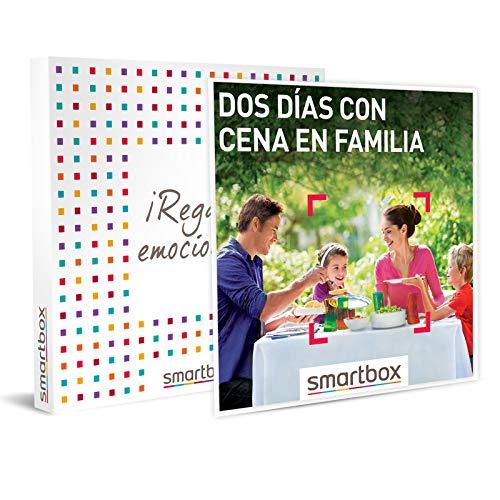 Smartbox Dos días con Cena en Familia Caja Regalo, Adultos Unisex, estándar