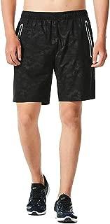 YOCheerful Men Trunks, Mens Sportswear Quick Dry Shorts Hawaiian Surfing Trunks Black Sports Shorts Running Shorts